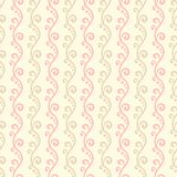 Pastel loving wedding vector seamless pattern Royalty Free Stock Photo