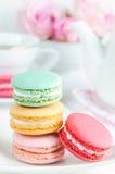 Pastel Macaroons Royalty Free Stock Photo