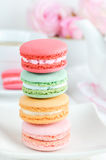 Pastel Macaroons Royalty Free Stock Photography