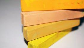 Pastel multicolore photos stock