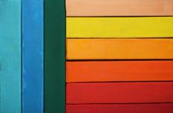 Pastel multicolore lumineux Image libre de droits