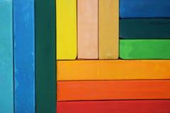 Pastel multicolore lumineux Images libres de droits