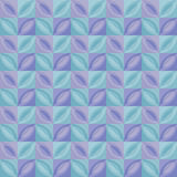 Pastel pale color tender leaves tile. Royalty Free Stock Photography