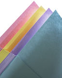 Pastel Paper Arrangement Stock Image