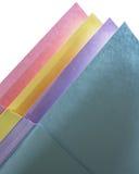 Pastel Paper Arrangement Stock Image