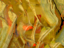 Pastel On Paper. Very Interesting Abstract Image of Pastel On Paper royalty free stock photo