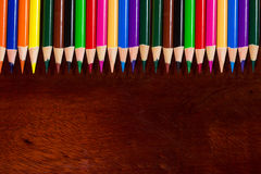 Pastel pastel colorido na mesa velha Foto de Stock