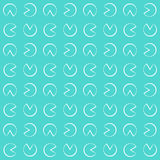 Pastel pattern. Seamless texture with circle. Royalty Free Stock Image