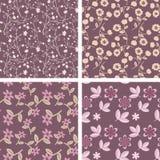 Pastel patterns Stock Photography