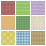 Pastel Patterns Stock Photo