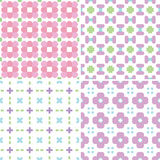 Pastel patterns Royalty Free Stock Photography