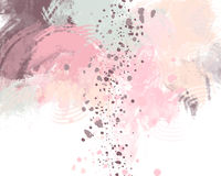 Pastel pink background, abstract. Digital painting Royalty Free Stock Photo