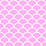 Pastel pink fish scales Stock Image