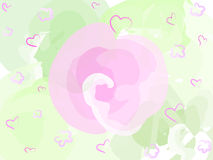 Pastel pink flower Stock Photo