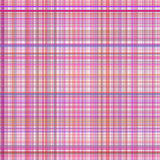 Pastel pink multicolored stripes plaid Royalty Free Stock Photos