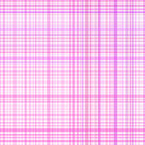 Pastel pink stripes plaid Stock Image