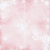 Pastel pink texture. D background with floral design vector illustration