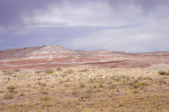 Pastel pinkish scenic view of Arizona Royalty Free Stock Images