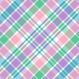 Pastel Plaid. Illustration of pink,purple, green and blue pastel plaid Stock Images