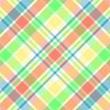 Pastel Plaid Stock Image