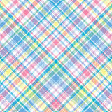 Pastel Plaid. A plaid background pattern in pastel colors vector illustration