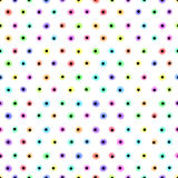Pastel polka dot pattern Stock Photos