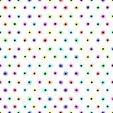 Pastel polka dot pattern. Pastel polka dot seamless pattern Stock Photos