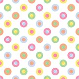 Pastel Polka Dots. An illustration of pastel colored polka dots Stock Photography