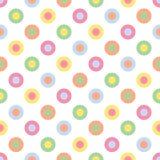 Pastel Polka Dots Stock Photography