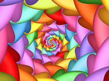 Free Pastel Psychedelic Rainbow Spiral Background Royalty Free Stock Photo - 72054225