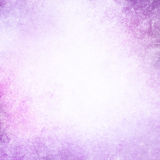 Pastel purple background with white cloudy center copyspace Royalty Free Stock Photography