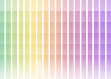 Pastel rainbow pixel bar abstract background. Pastel rainbow abstract pixel speed background, square layer line, technology geometric background, vector stock illustration
