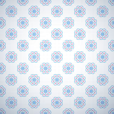 Pastel retro different vector seamless pattern Royalty Free Stock Photography