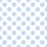 Pastel retro different vector seamless pattern stock illustration