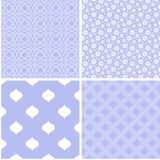 4 Pastel retro different vector seamless patterns. Pastel retro different vector seamless patterns. Texture can be used for wallpaper, pattern fills royalty free illustration