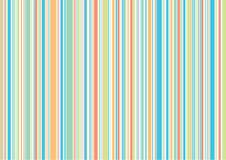 Pastel retro holiday stripes Stock Photography