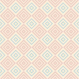 Pastel retro vector seamless pattern Stock Photos