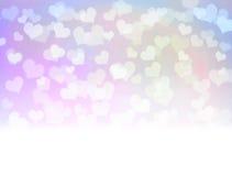 Pastel romantic wedding white border background. Royalty Free Stock Images
