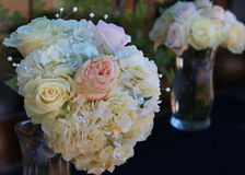 Pastel Rose Bridal Bouquets Royalty Free Stock Image
