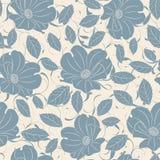 Pastel roses pattern Stock Photos