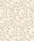 Pastel sans couture outre de modèle sensible de prairie blanche illustration de vecteur