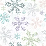 Pastel seamless gentle white pattern Stock Images
