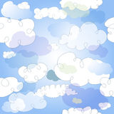 Pastel seamless pattern Royalty Free Stock Photography