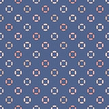 Pastel seamless pattern with repeated circles. Bubble motif. Geometric abstract background. Modern surface texture. Pastel colors seamless pattern with repeated Royalty Free Stock Images
