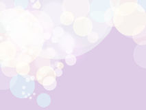 Pastel shade bubble Stock Images