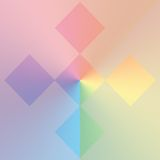 Pastel shapes background Royalty Free Stock Photo