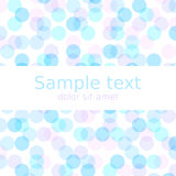 Pastel spring abstract background with copyspace for your text. Vector Illustration EPS10. Royalty Free Stock Images