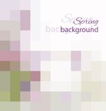 Pastel spring background. Vector  background. You can use for greeting someone Stock Images