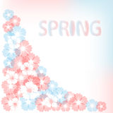 Pastel spring background. Royalty Free Stock Image