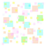 Pastel squares Stock Photos
